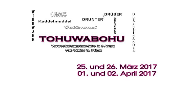 März 2017 | Tohuwabohu