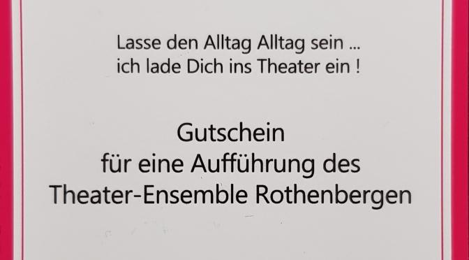Theater Gutschein