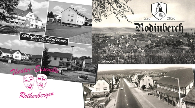 800 Jahre Rothenbergen 1220 – 2020
